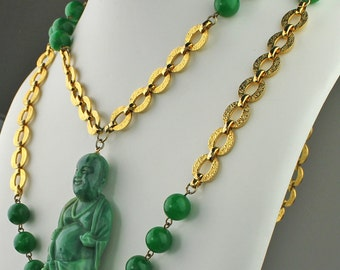 Vintage Buddha Necklace