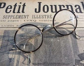 Dated 1900s round tortoise glasses