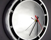 1960's Ford Galaxie Wall Clock - Classic Car Hubcap - Galaxy