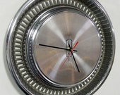 1972 Oldsmobile Hubcap Clock - Olds Wall Clock
