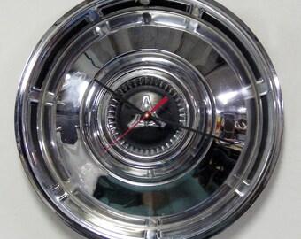 1967 - 1968 Dodge Dart Hubcap Clock - Mopar Hub Cap