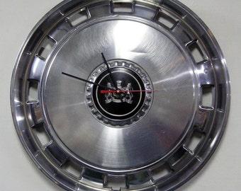 1975 - 1989 Mercury Hub Cap Clock - Grand Marquis Hubcap Garage Decor - 1976 1977 1978 1979 1980 1981 1982 1983 1984 1985 1986 1987 1988