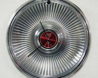 Pontiac Wall Clock - 1978 - 1979 Pontiac LeMans Phoenix Hubcap Clock