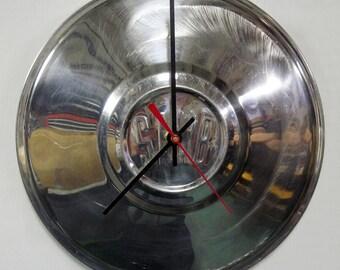 1970's Saab Hubcap Clock - 1969 - 1980 Saab 99 95 96 Hub Cap - 1970 1971 1972 1973 1974 1975 1976 1977 1978 1979