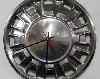 1970 - 1972 Toyota Corona Hubcap Clock - 1971 Wall Clock