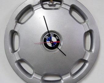1991 - 1992 BMW 3 Series Hubcap Wall Clock - 318i 320i Hub Cap