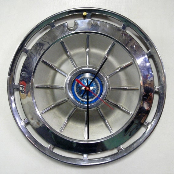 1962 Chevy Wall Clock Chevrolet Impala Corvair Chevy Ii