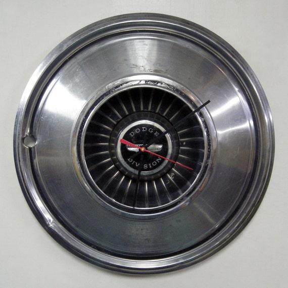 1976 Dodge Charger Wall Clock - 1972 - 1977 Polara Hub Cap Monaco Hubcap - 1973 1974 1975 - SALE