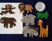 Giraffes Can't Dance Flannel Board Felt Story Set/Felt Stories/Storytelling/Literacy/Zoo/Teacher Supplies/Teaching/Library/Daycare