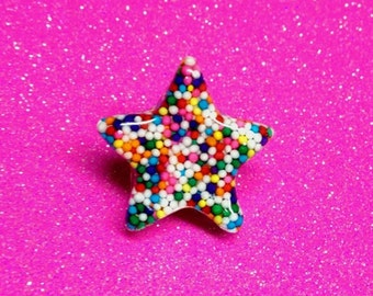 Sprinkle Star Ring (Adjustable)