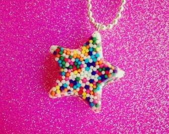Sprinkle Star Necklace