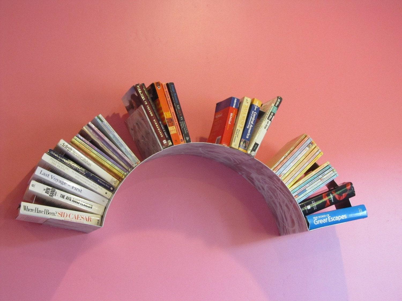 Sun Wall Bookshelf Grinded
