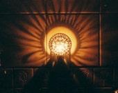 Traditional Round Night Light