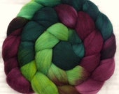 Roving - Merino Wool Spinning Fiber - Treasure-  4 oz  Combed Top