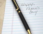 Wood Golf Club Pen Handcrafted Black Ebony in GIFT BOX