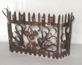 Miniature Wrought Iron Fireplace Screen