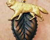Autumn Wolf Necklace
