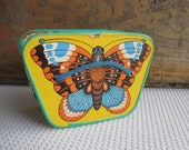 Vintage Butterfly Toy Cardboard Accordion