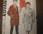 Vintage Advance Boy's Robe size 6 1960's Uncut