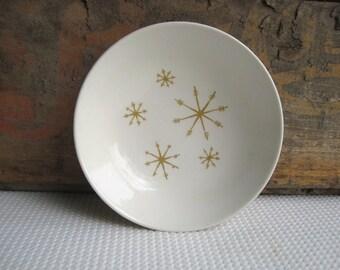 Vintage Star Glow Royal China Fruit Dessert Bowls