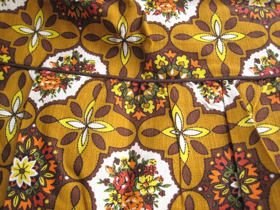 Vintage Studio Couch and Pillow Cover New Old Stock Retro Fabulous