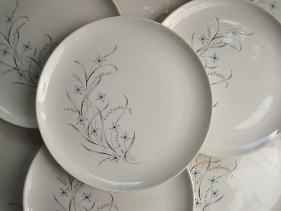 Vintage Windemere Taylor Smith Taylor Ever Yours Dinner Plates
