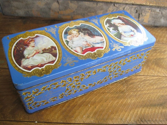 Vintage Thorne's Confectionery Famous Pictures of Childhood Hinged Tin