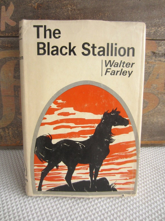 The Black Stallion by Walter Farley 1941 Hardcover Book Club Edition