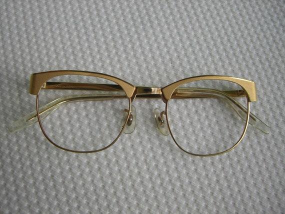 Vintage Shuron Continental Browline Eyeglasses