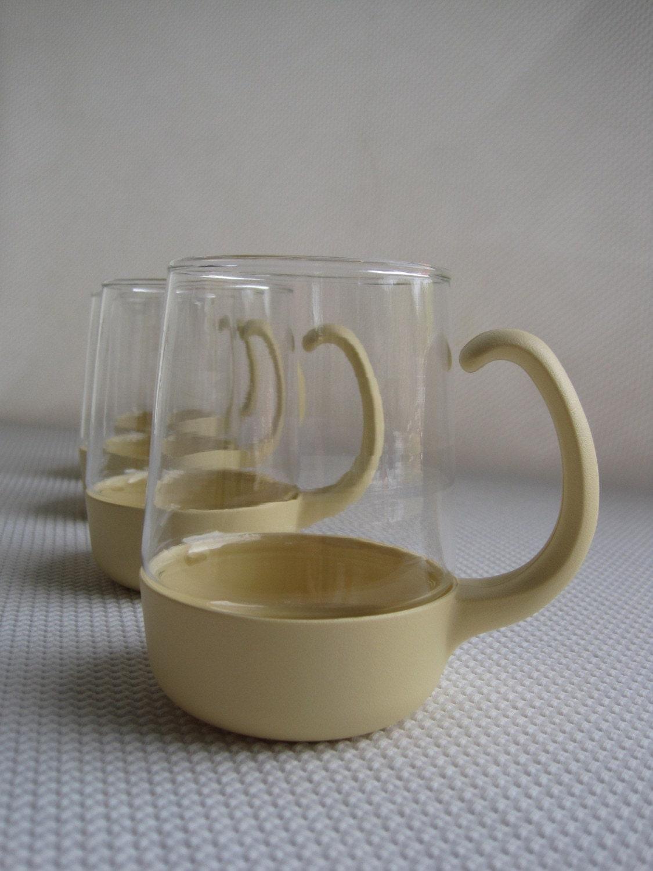 Vintage looking acrylic drink ware