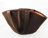 Kimono Bag D -------- InsideOut Canvas and Felt. Hand Bag----SALE