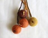 Felt Balls -------- KeyChain.