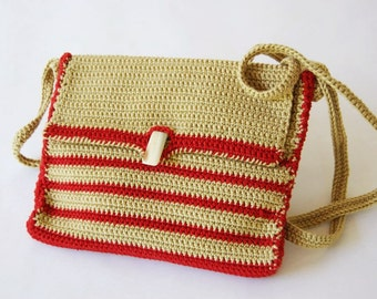 Dindin -------- Cotton. Purse--Red---Green