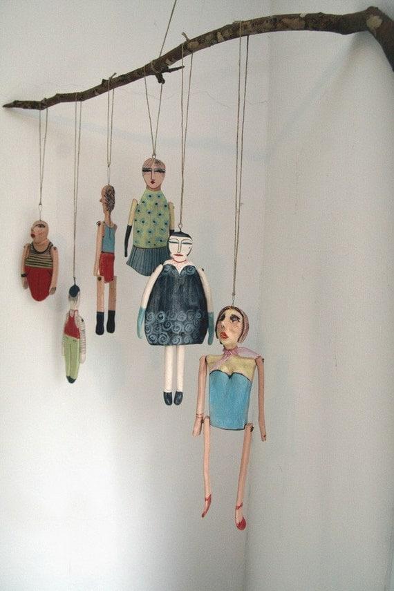 Anna dolls -------- Ceramic Marionette.