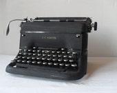Reserved.  Antique L.C. Smith Super Speed Desktop Typewriter 1940