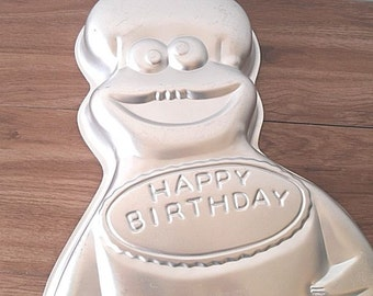 Vintage Wilton Cake Pan Cookie Monster Retired