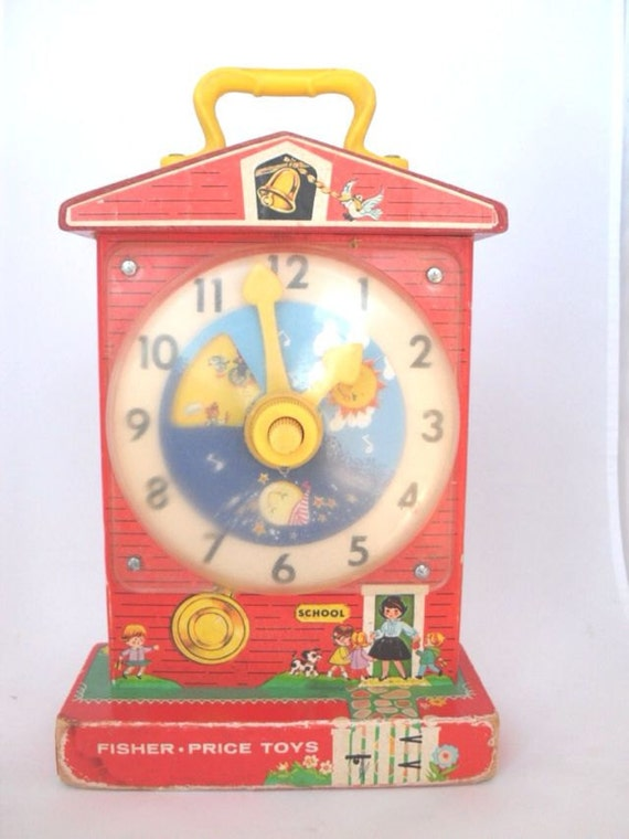 Fisher Price Toy Tick Tock Teaching Clock