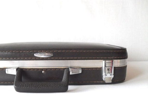 Vintage Featherlite Briefcase Luggage