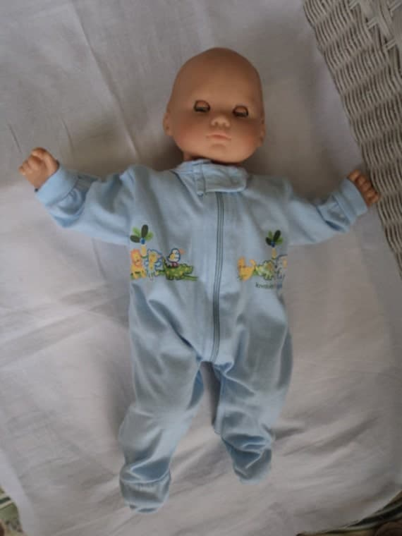 Bitty Baby Boy  footed   Pajamas