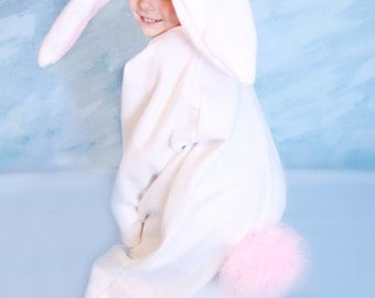 White Bunny Costume 1-2