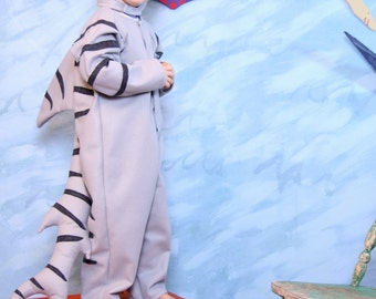 Tiger shark costume