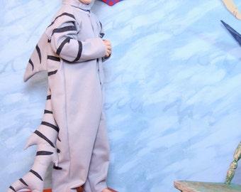 Tiger Shark Costume sizes 3/4