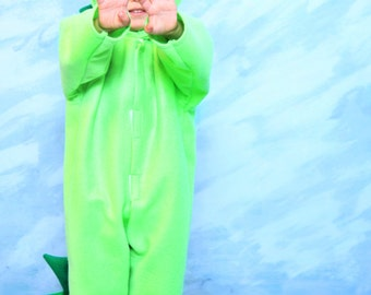 Lime Green Dragon Costume