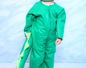 Green Dragon Costume