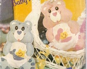 Ornaments sewing pattern CARE BEAR Butterick 998 Mini Baby Hugs Bear VINTAGE ornaments