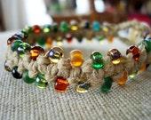 CUSTOM Tapestry Beaded Bracelet