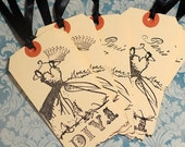French Gift Tags