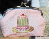 Marie Antoinette Eat Cake Clutch Purse
