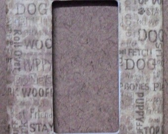 Dog Days GFCI/Rocker Switchplate Cover - Free Shipping - 1016ANML