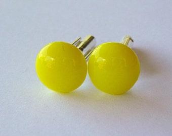Yellow Sunshine  - Cuff links